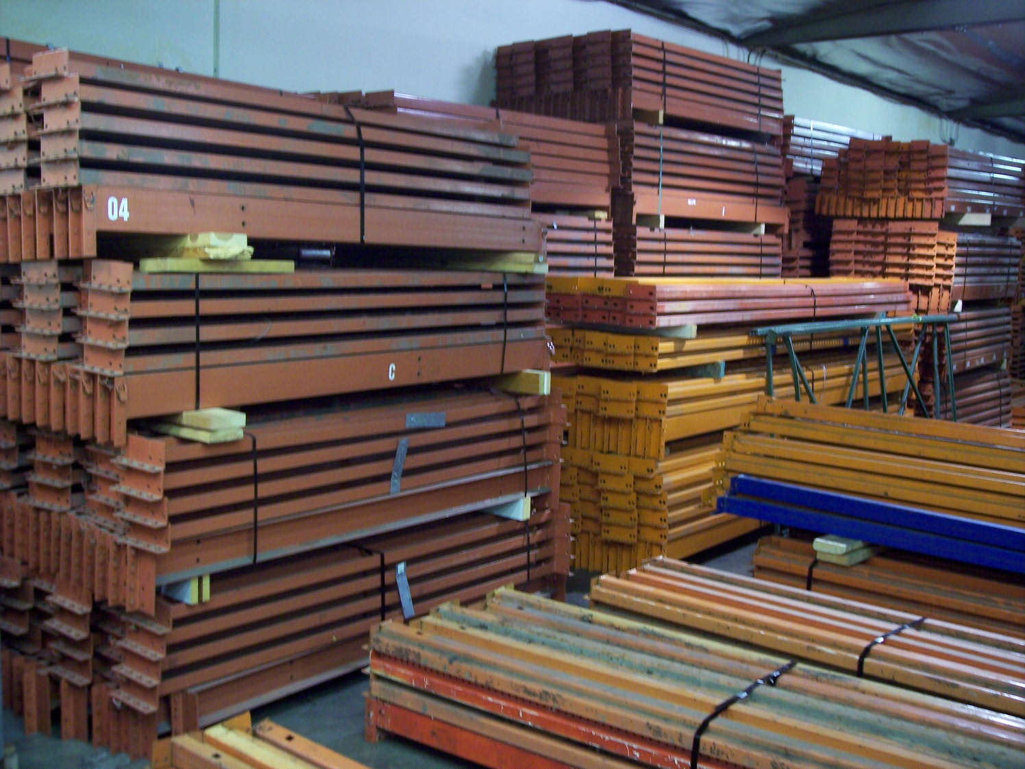 storage of system warehouse pallet and rack web unarco components a