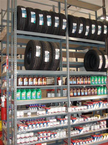 Auto Parts Rack A Amp A Boltless Rack And Shelving Warehouse