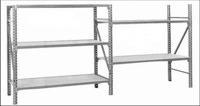 fast rack shelving a a boltless rack and shelving warehouse