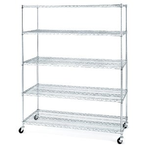 Chrome Wire Racks and Carts – NSF Approved