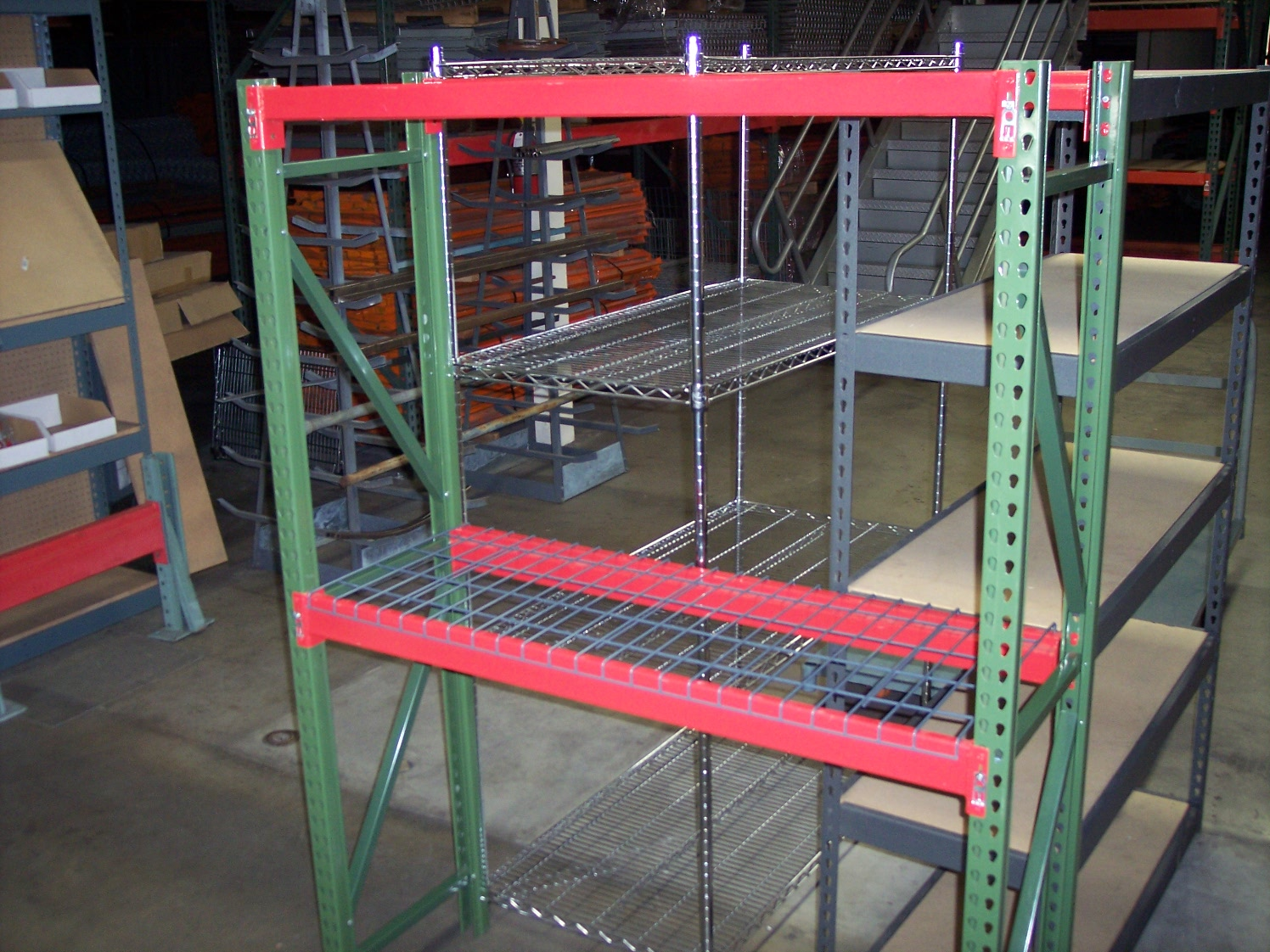 Fast Rack Shelving & All American Rack Company Warehouse Pallet Rack u0026 Shelving | Pallet ...