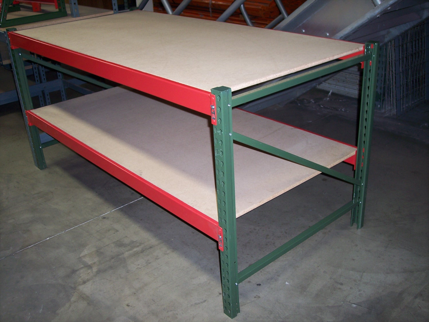 Work Benches All American Rack Company Warehouse Pallet Rack Shelving