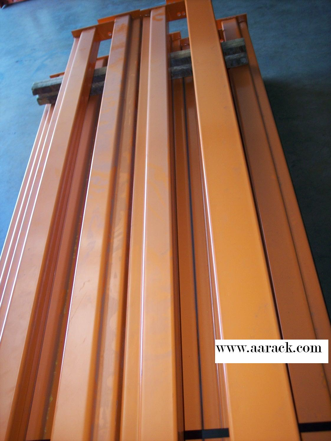 pallet rack step beams and wire decks all american rack company