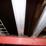 Pallet Rack Step Beams and Wire Decks