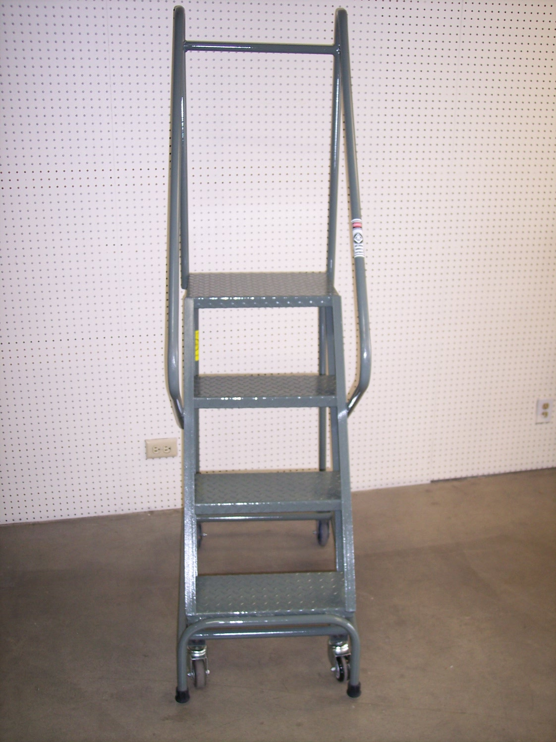 Steel stair cases and ladder